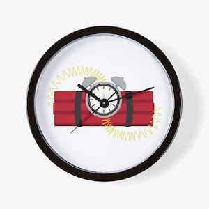 Dynamite Wall Clock