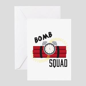 Bomb Squad Greeting Cards