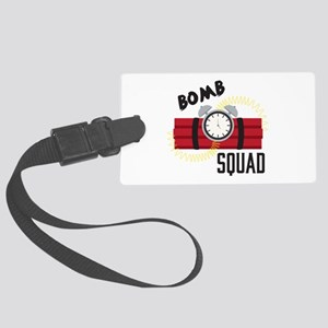 Bomb Squad Luggage Tag