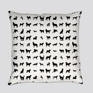 DOGS, DOGS, EVERYWHERE Everyday Pillow