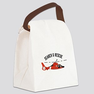 Search Rescue Canvas Lunch Bag