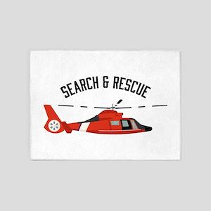 Search Rescue 5'x7'Area Rug