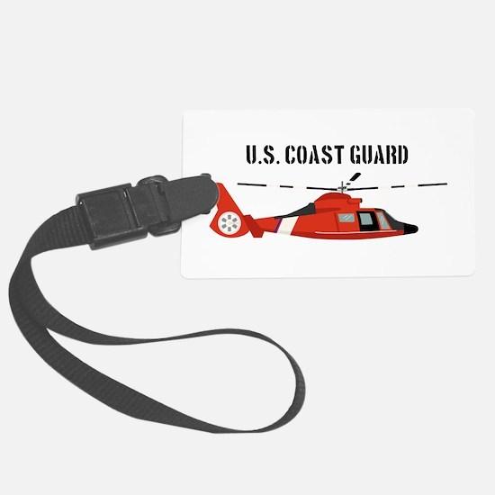 US Coast Guard Luggage Tag