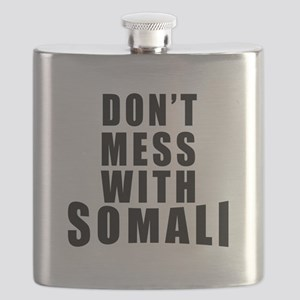 Don't Mess With Somalia Flask