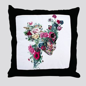 Skull VII Throw Pillow