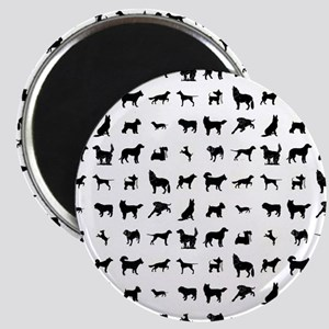 DOGS, DOGS, EVERYWHERE Magnet