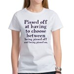 Pissed Off Women's T-Shirt