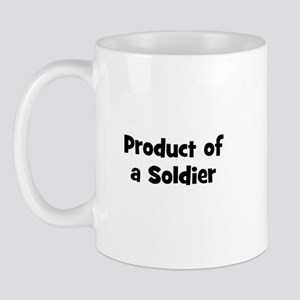 Product of a Soldier Mug