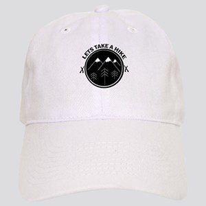 lets take a hike funny walking outdoor Cap