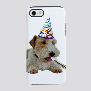 Wire Fox Terrier Party iPhone 8/7 Tough Case