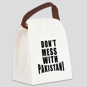 Don't Mess With Pakistan Canvas Lunch Bag