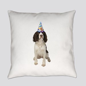 Springer Spaniel Party Everyday Pillow