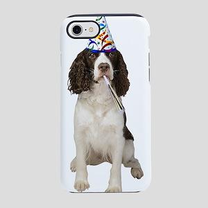 Springer Spaniel Party iPhone 8/7 Tough Case
