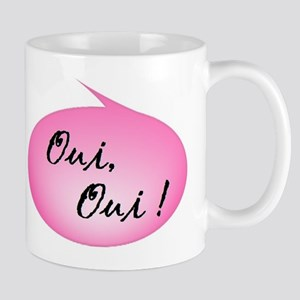 Oui, Oui! Mugs