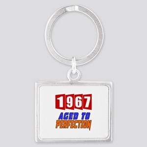 1967 Aged To Perfection Landscape Keychain
