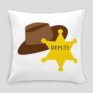 Deputy Hat Everyday Pillow