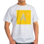 90b.truest self..? Ash Grey T-Shirt