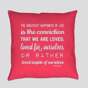 love quotes and sayings for her ro Everyday Pillow