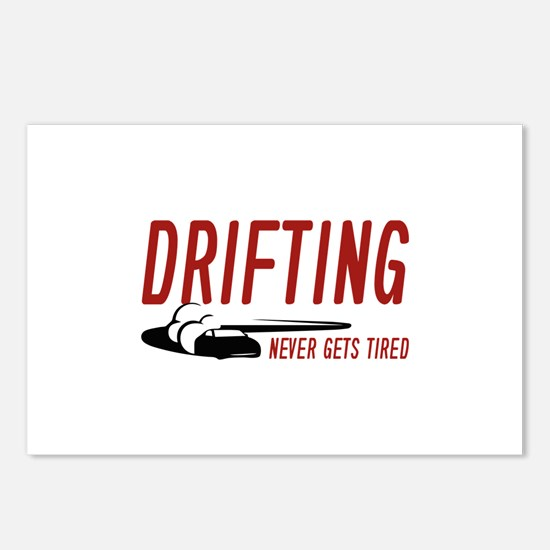 Drifting Never Gets Tired Postcards (Package of 8)