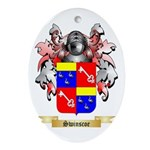 Swinscoe Oval Ornament