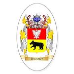 Sweitser Sticker (Oval 10 pk)
