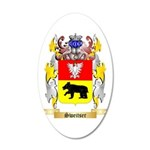 Sweitser 20x12 Oval Wall Decal