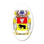 Sweetser 35x21 Oval Wall Decal