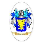 Sweetman Sticker (Oval 50 pk)