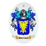 Sweetman Oval Ornament