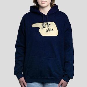 fatty_owls_black Sweatshirt