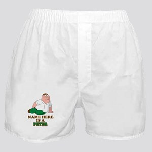 Family Guy Peter Personalized Boxer Shorts