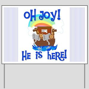 Noah's Ark It's a Boy Yard Sign