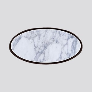 White and Gray Marble Stone Pattern Patch