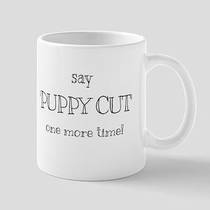 Puppy cut Mugs