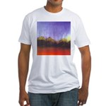 61.taoz mountain.. Fitted T-Shirt