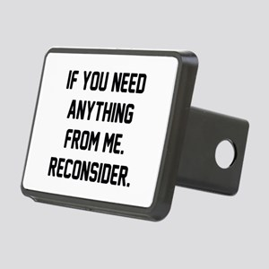 Reconsider Rectangular Hitch Cover