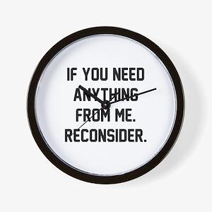 Reconsider Wall Clock