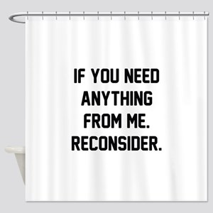 Reconsider Shower Curtain
