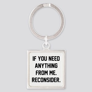 Reconsider Square Keychain