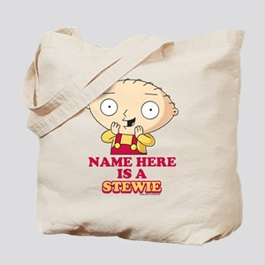 Family Guy Stewie Personalized Tote Bag