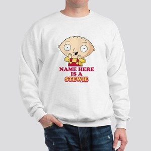 Family Guy Stewie Personalized Sweatshirt