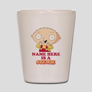 Family Guy Stewie Personalized Shot Glass