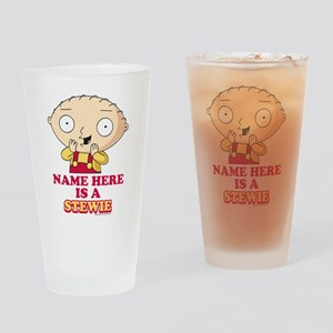Family Guy Stewie Personalized Drinking Glass