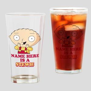 Family Guy Stewie Personalized Drinking Glass
