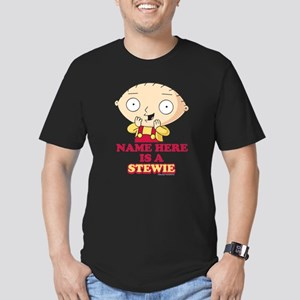 Family Guy Stewie Pers Men's Fitted T-Shirt (dark)