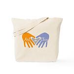 Art in Clay / Heart / Hands Tote Bag