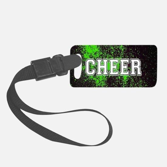 Cute Cheerleading Luggage Tag