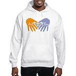 Art in Clay / Heart / Hands Hooded Sweatshirt