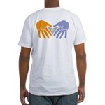 Art in Clay / Heart / Hands Fitted T-Shirt