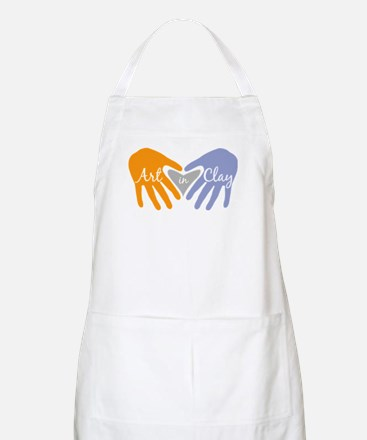 Art in Clay / Heart / Hands Apron